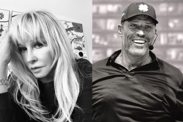 The separation of Tony Robbins and his ex-wife Becky Robbins after sharing a daughter together