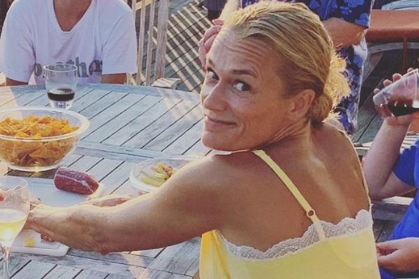 Greg Poehler's wife Charlotta Meder