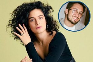 Jenny Slate relationship with Dean Fleischer-Camp