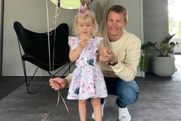 Kimi Räikkönen's Daughter Rianna Räikkönen