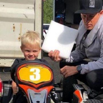 Kimi Räikkönen's Son Robin Räikkönen Already Following In His Footsteps