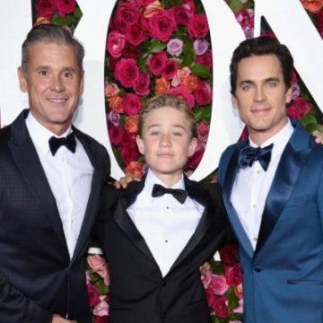 Meet Kit Halls – Photos Of Simon Halls' Son With Matt Bomer Who Came Out Straight