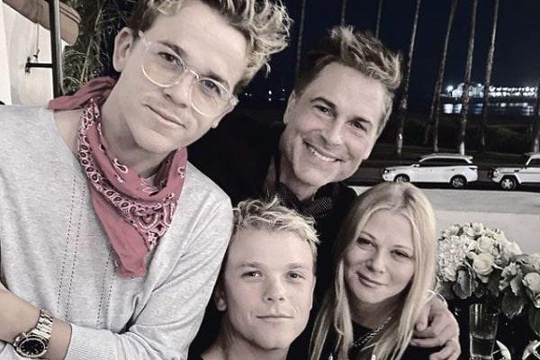 Rob Lowe's son, Matthew Edward Lowe