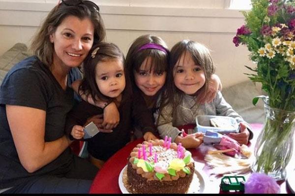 Chad Lowe's daughter, Nixie Barbara Lowe.