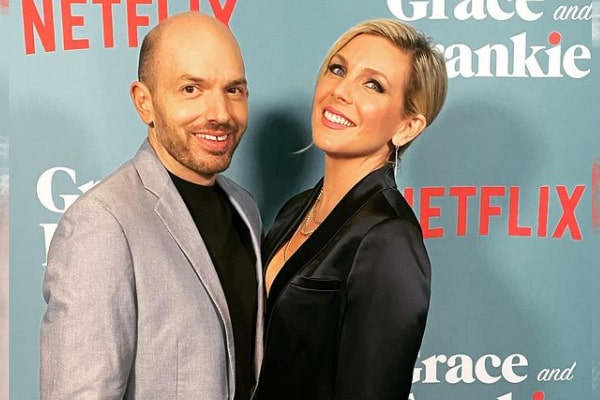Paul Scheer's Son, August Scheer With June Diane Raphael