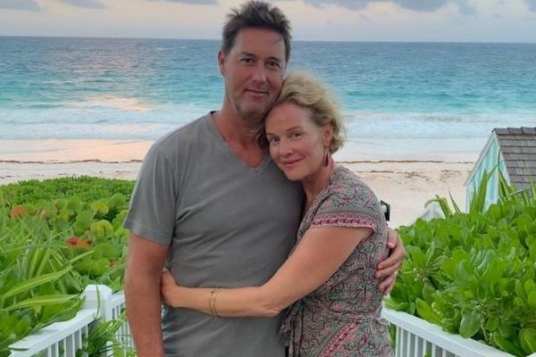 Penelope Ann Miller's husband James Patrick Huggins