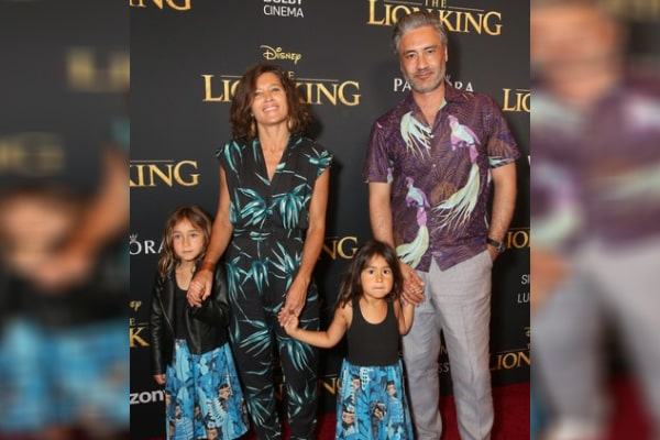 Taika Waititi's Daughter Matewa Kiritapu With Chelsea Winstanley