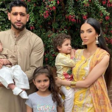 Meet All Of Boxer Amir Khan's Children And See How They Are Growing Up