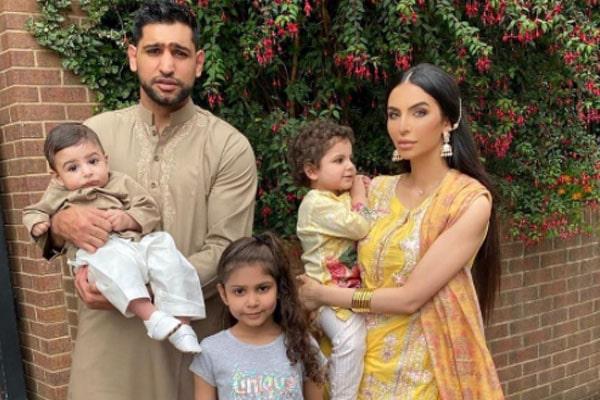 Amir Khan Children, Amir Khan Son, Amir Khan daughter, Lamaisah Khan, Alayna Khan, Muhammad Zaviyar Khan