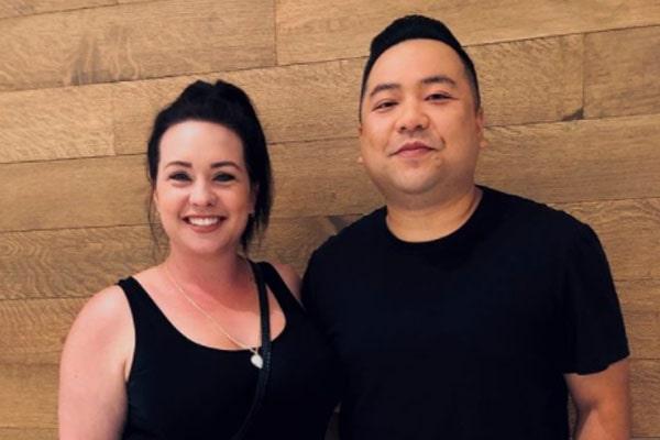 Andrew Phung's wife, Tamara Sharpe