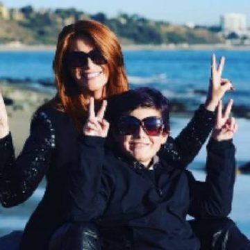 Meet Kayden Bobby Everhart – Photos Of Angie Everhart's Son With Chad Stansbury