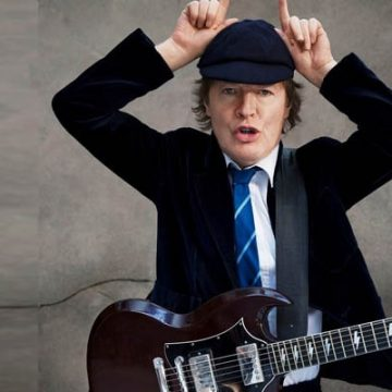 Meet Angus Young's Wife Ellen Young, She Loves Ordering Her Husband