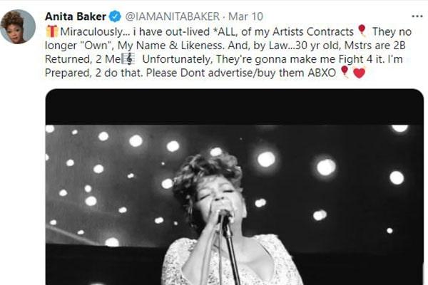 Anita Baker Net Worth And Earnings