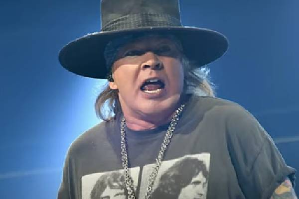 Axl Rose Is A Renowned Musician.
