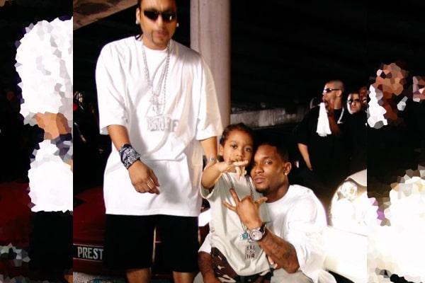 "Big Meech's son, Demetrius ""Lil Meech"" Flenory Jr."
