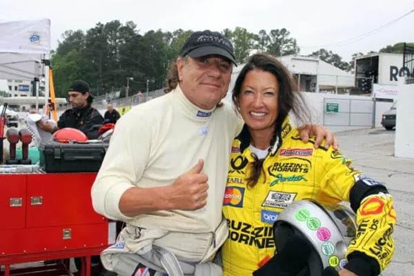 Brian Johnson wife, Brenda Johnson.