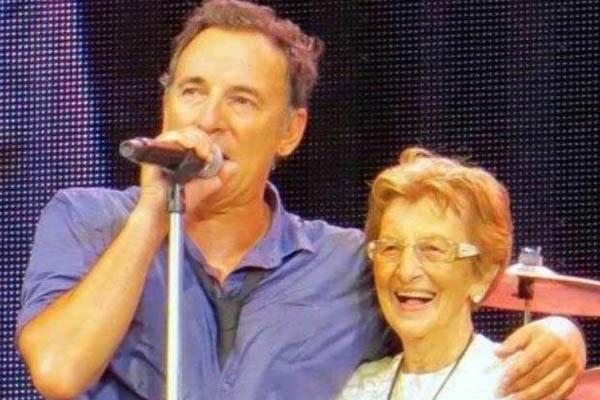 Bruce Springsteen mother, Adele Ann Springsteen.