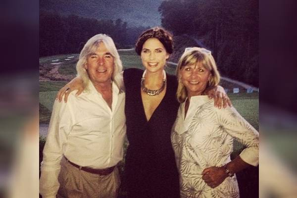 Cliff Williams' daughter, Erin Williams is a renowned model and host