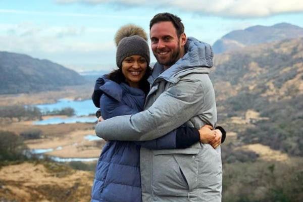 Cynthia Addai-Robinson boyfriend, Cynthia Addai-Robinson husband, Thomas Hefferon.