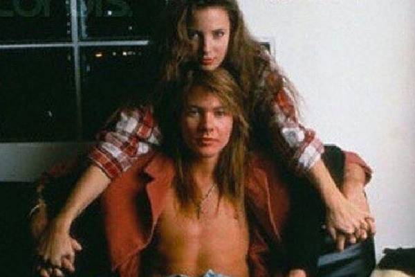 Axl was only married to Erin.