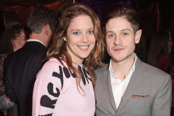 Iwan Rheon and Zoe Grisedale Love Life