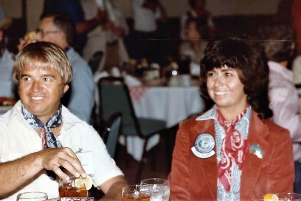 Jimmy Houston wife, Chris Houston.