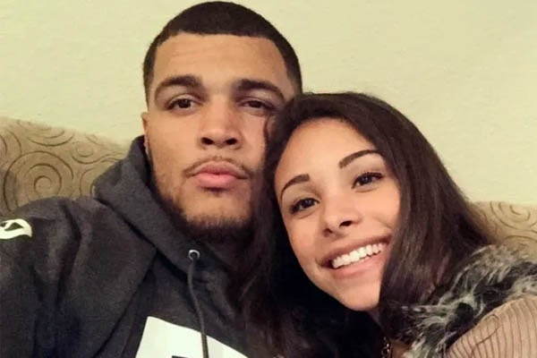 Mike Evans wife, Ashli Dotson Evans.