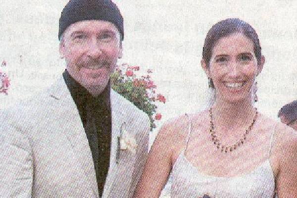 The Edge's wife, Morleigh Steinberg.