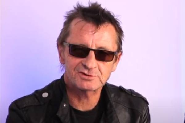 Phil Rudd Is A Celebrated Personality.