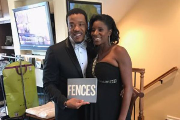 Russell Hornsby's Wife, Denise Walker.