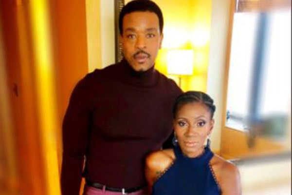 Russell Hornsby's wife Denise Walker.