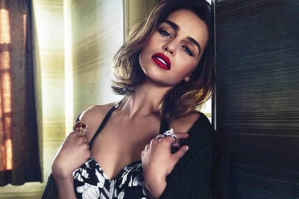 Seth MacFarlane girlfriend, Emilia Clarke