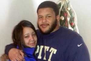 Aaron Donald ex-girlfriend, Jaelynn Blakey