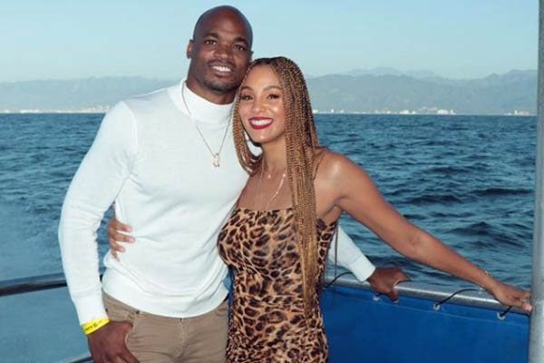 Adrian Peterson wife, Ashley Brown