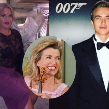 Meet Both Of Anne-Sophie Mutter's Children, Son Richard Wunderlich And Daughter Arabella Wunderlich