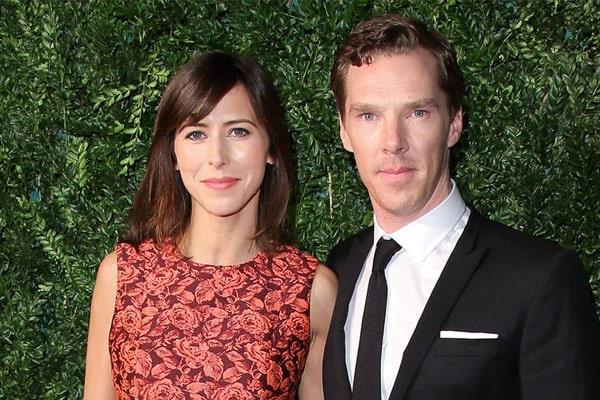 Benedict Cumberbatch son with Sophie Hunter, Christopher Carlton Cumberbatch.