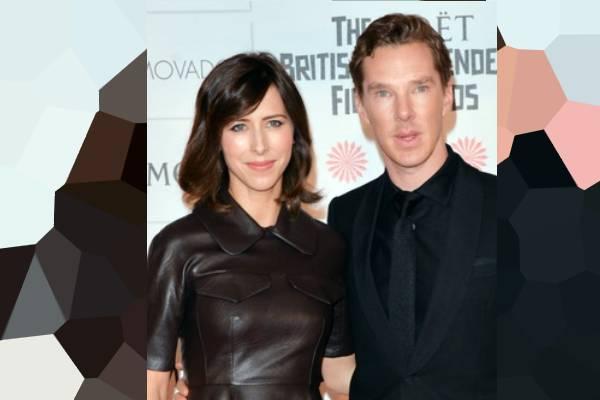 Benedict Cumberbatch's son Hal Auden Cumberbatch.