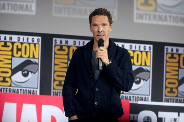 Benedict Cumberbatch's son Hal Auden Cumberbatch