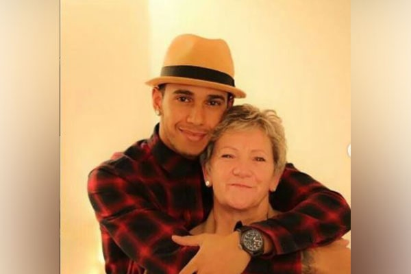 Lewis Hamilton's mom Carmen Larbalestier
