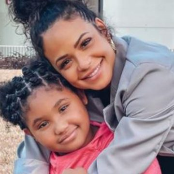 Christina Milian's Daughter Violet Madison-Nash, About To Be A Teen