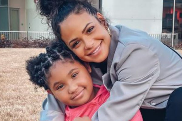 Christina Milian's Daughter, Violet Madison Nash