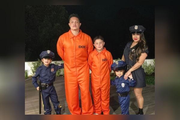 Eric Hernandez wife and children