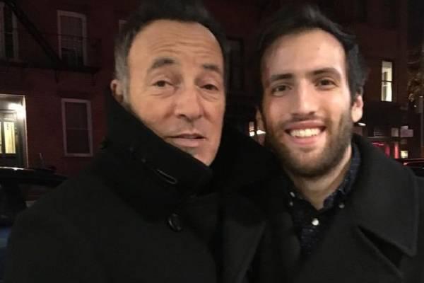 Bruce Springsteen's Son, Evan James Springsteen.