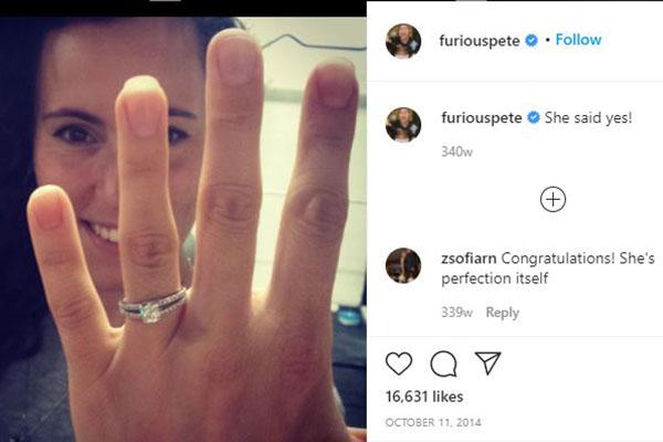 Furious Pete's fiancee Melissa Cvjeticanin