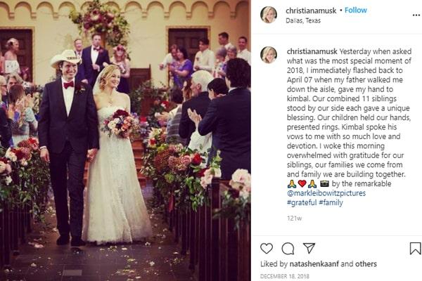 Kimbal Musk's Wife, Christiana Wyly