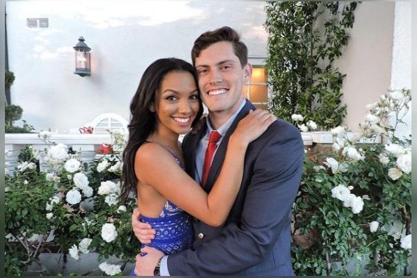 Corinne Foxx boyfriend Austin Lantero
