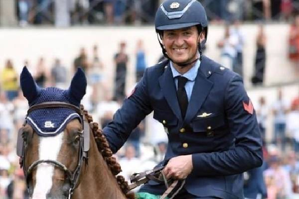 Jessica Springsteen's Lover, Lorenzo Is An Equestrian.