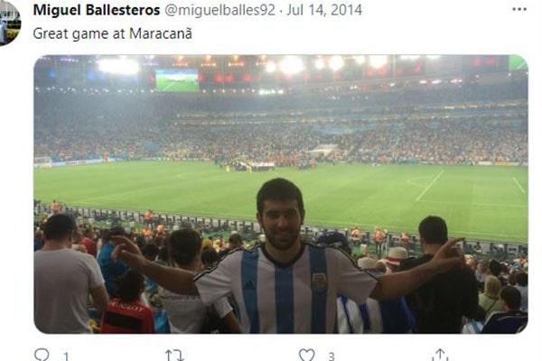 Seve Ballesteros' Kid, Miguel Ballesteros.