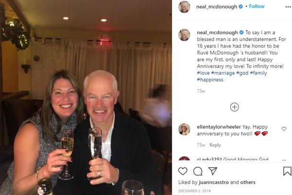 Neal McDonough's Wife Ruve McDonough