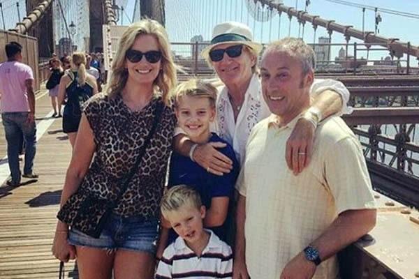 Rod Stewart's son with Penny Lancaster, Aiden Patrick Stewart